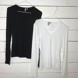 New ASOS Tall Ultimate Top Long Sleeve V Neck Lot2